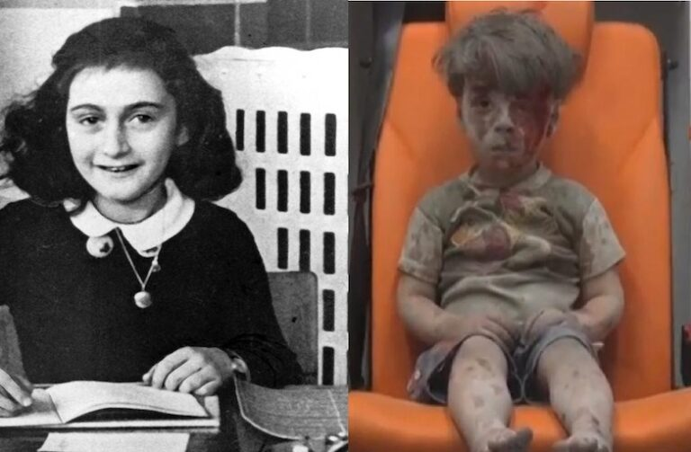 Anne Frank and the Syrian Crisis