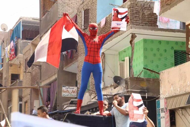 Egyptian Spiderman