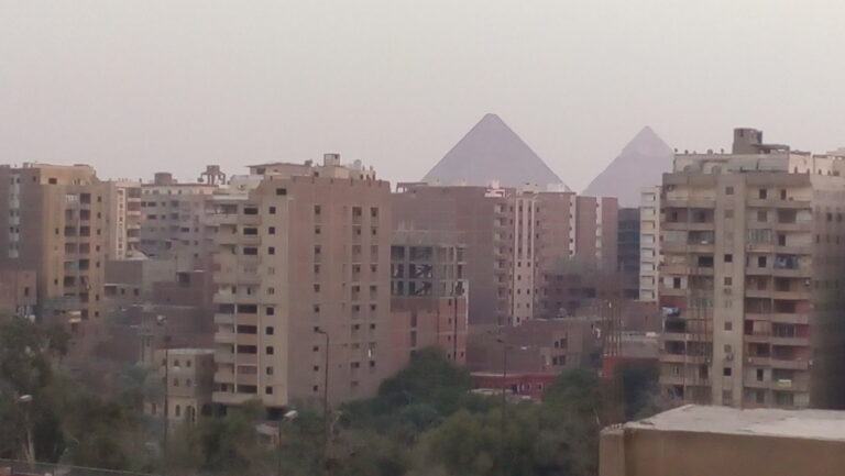 I Have Never Visited the Pyramids