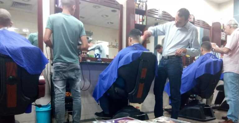 Getting a Haircut in Egypt