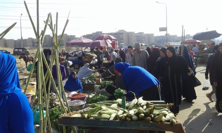 Buying Fruit and Vegetables in Egypt