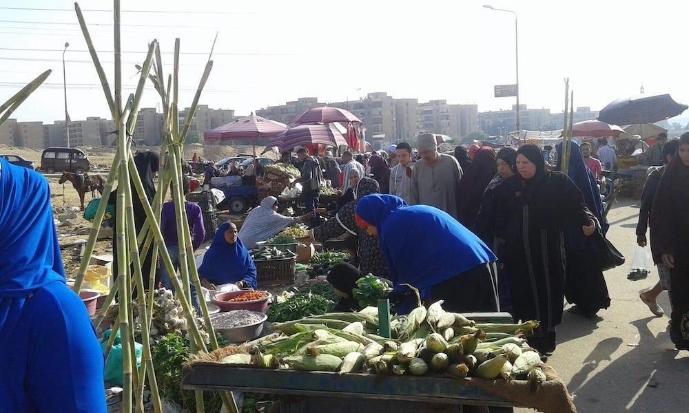 a Friday market