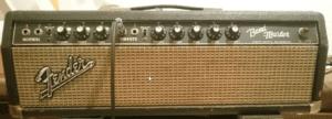 1962 Fender Band Master Blackface Head - Front Panel