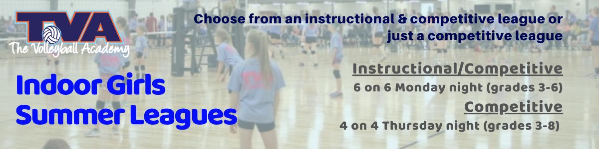 Indoor Girls Summer League Banner