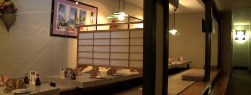 traditional tatami room seating at Osaka Japanese Bistro Las Vegas