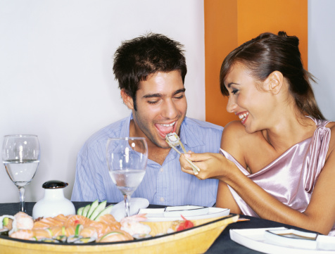 valentines day date night sushi dinner