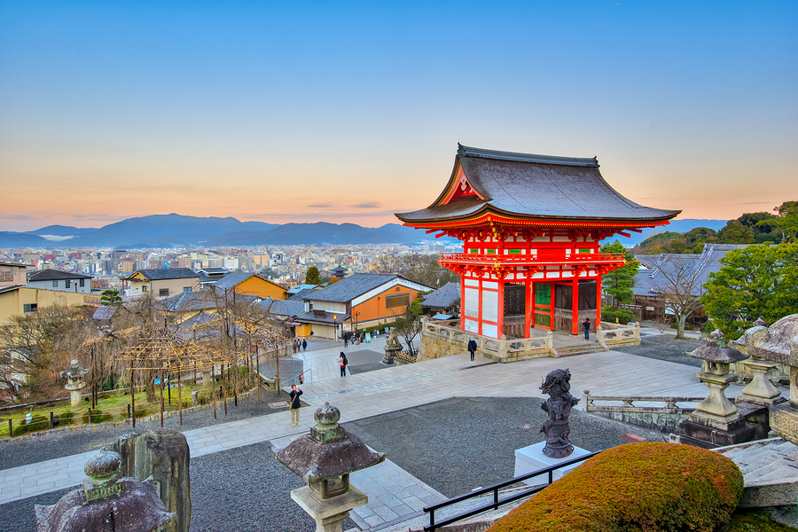 Kyoto Japan- Kiyomizu-dera is an independent Buddhist temple in eastern Kyoto. The temple is part of the Historic Monuments of Ancient Kyoto.