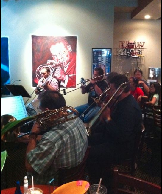band playing during jazz evening at Osaka in Henderson, NV