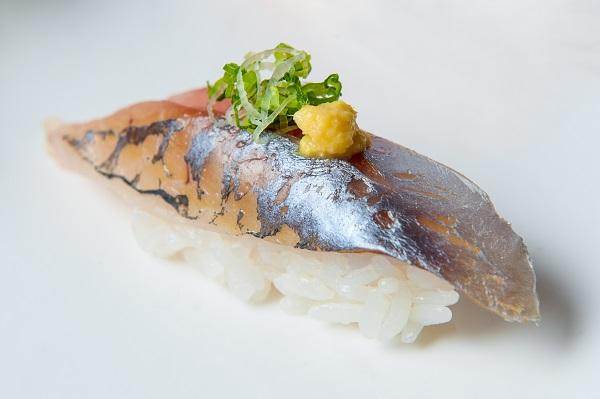 Aji nigiri one piece tuna sushi
