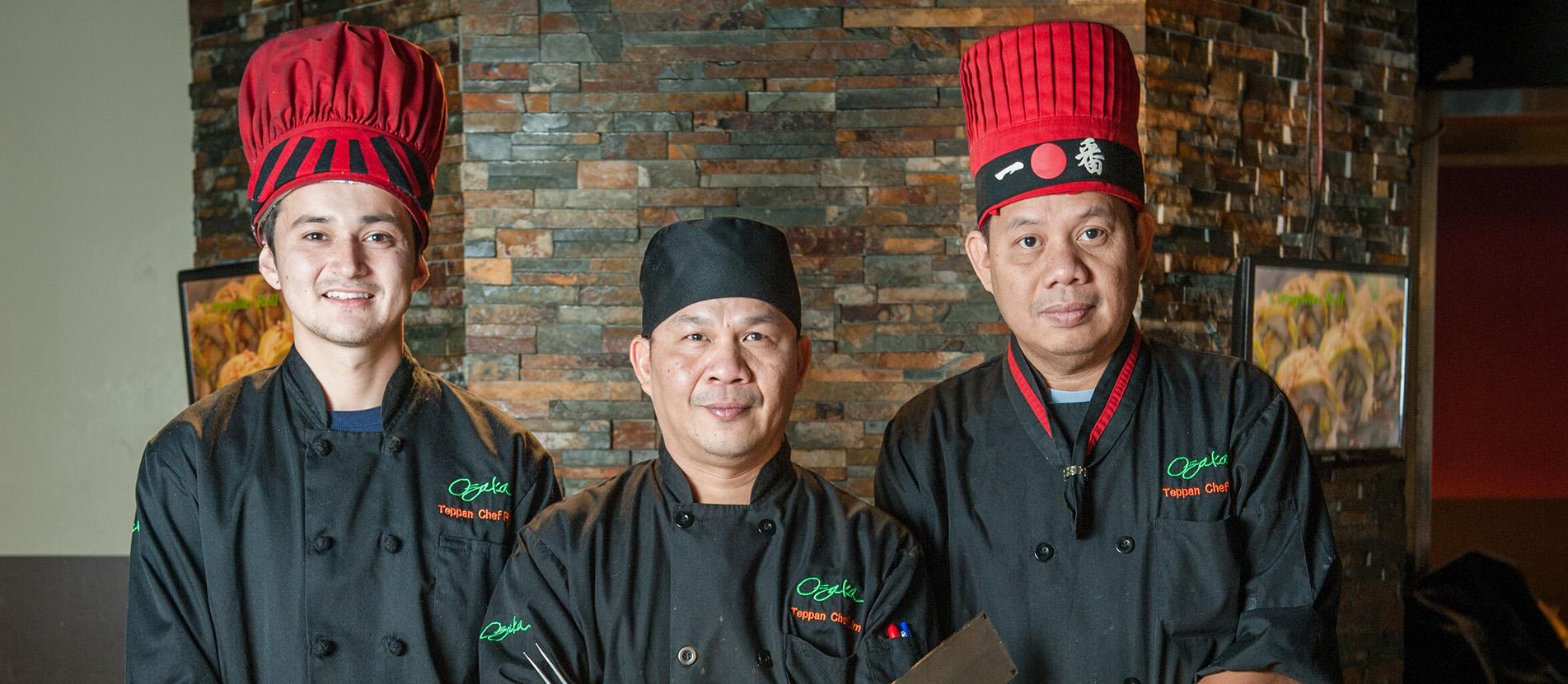 Osaka chefs