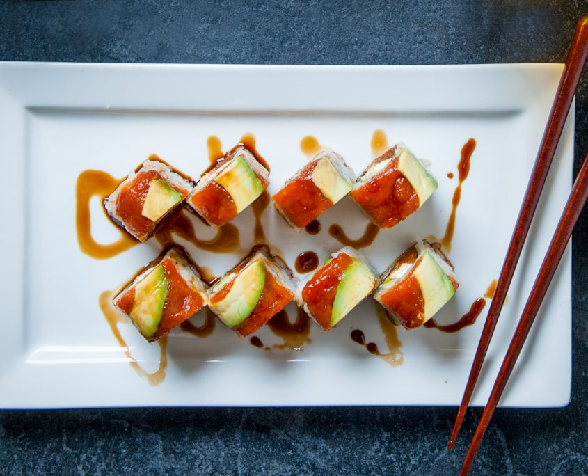 Kai's special sushi prepared by Osaka Catering Las Vegas
