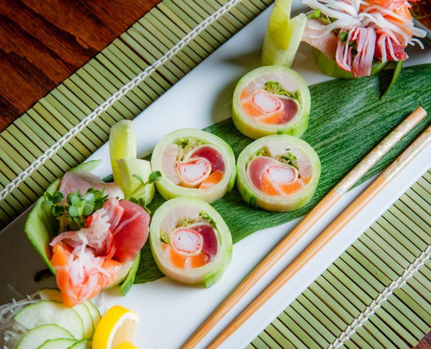sushi spring roll fresh sushi from Osaka