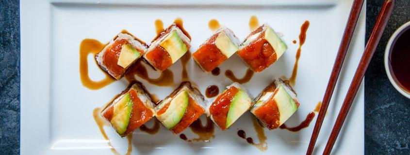 Kai's special sushi plate at Osaka Japanese Bistro