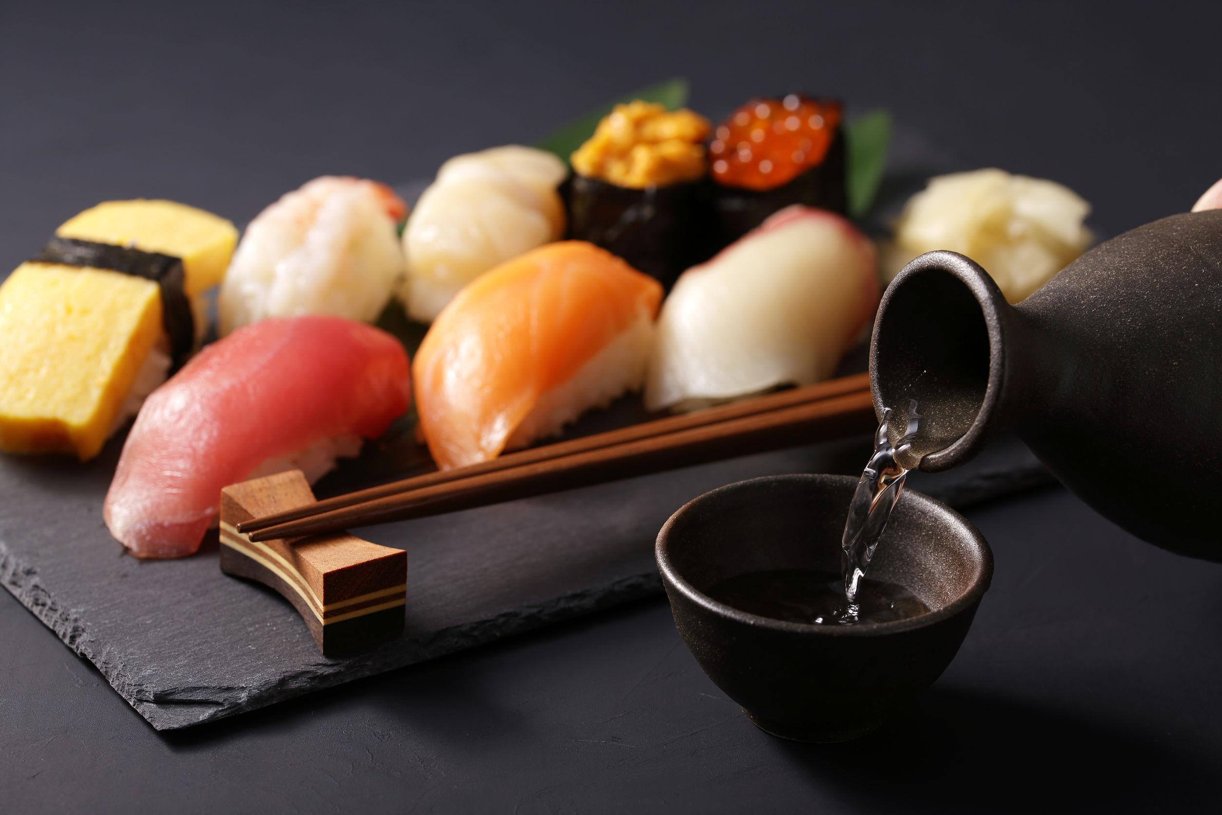 Sake and Sushi in Las Vegas
