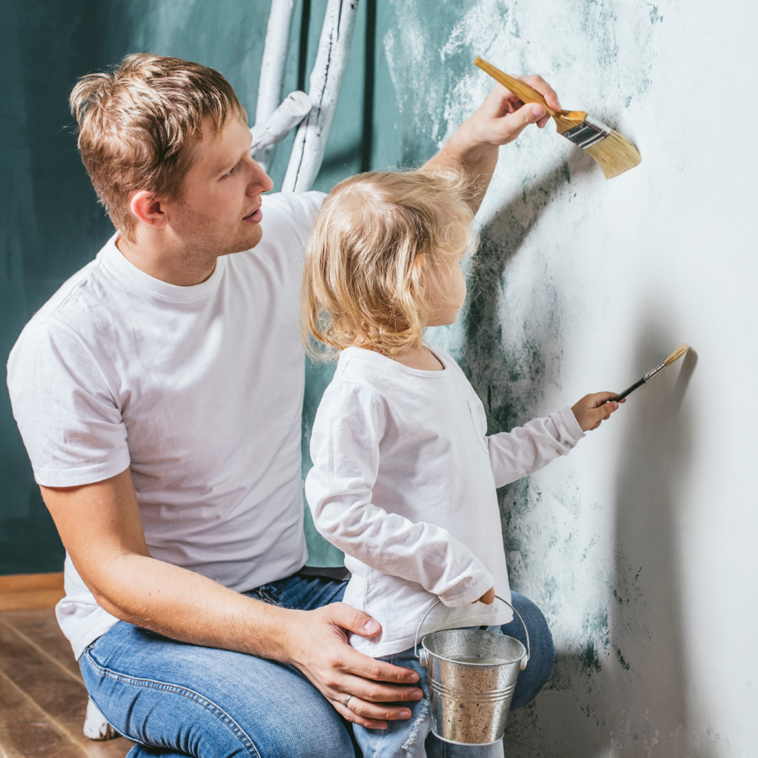 Paint-Father-Dad-Daughter