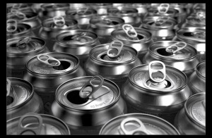 Open soda cans