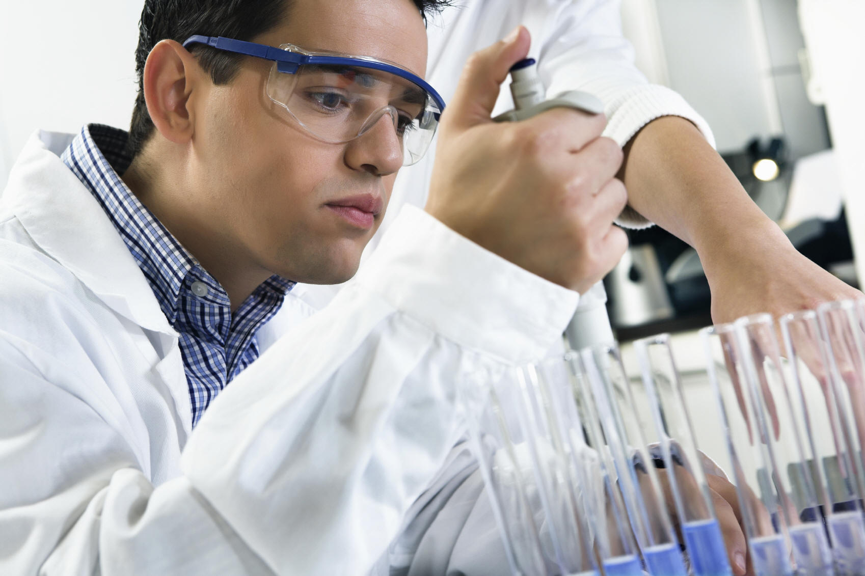 Analytical Chemist in the Laboratory