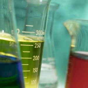 Lab glassware for analytical testing