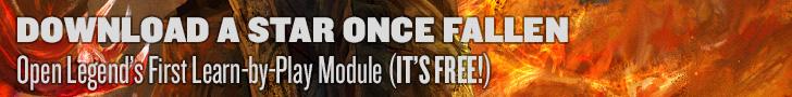 Every Roll Matters - Open Legend RPG Blog Promo Banner