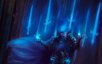 5th Edition to Open Legend Character Conversion Guide - Illustration by Stephen Najarian