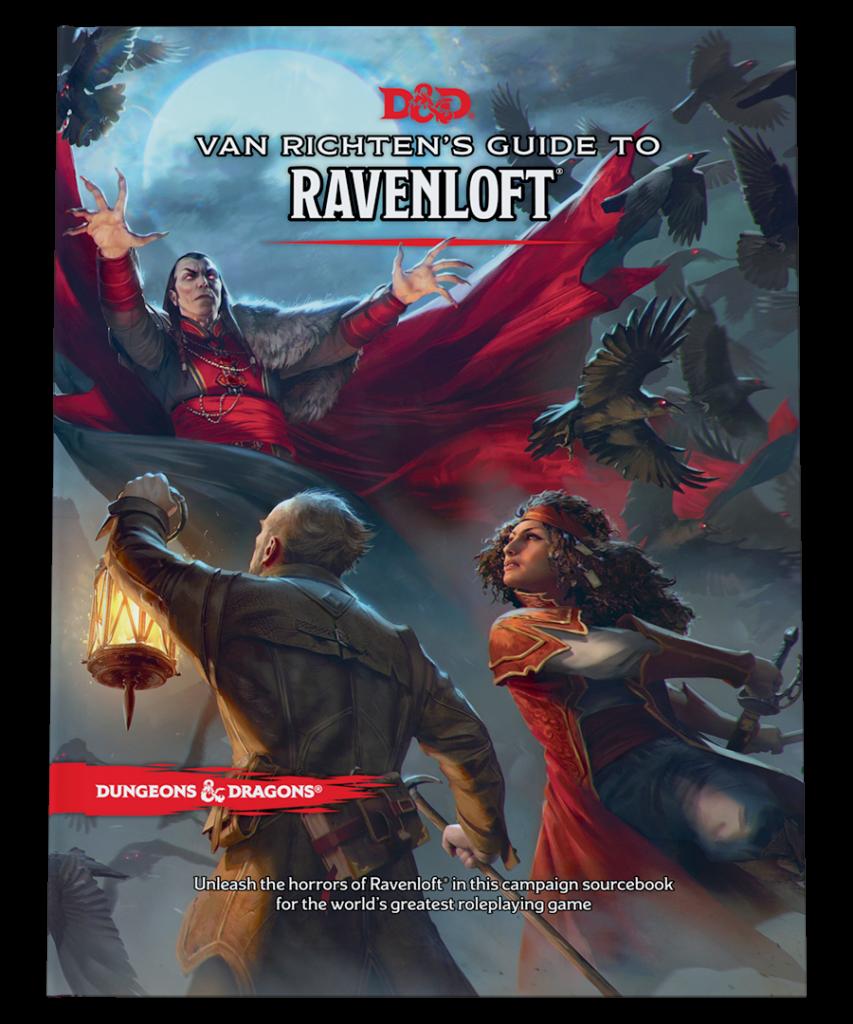 Capa do Van Ritchens Guide to Ravenloft