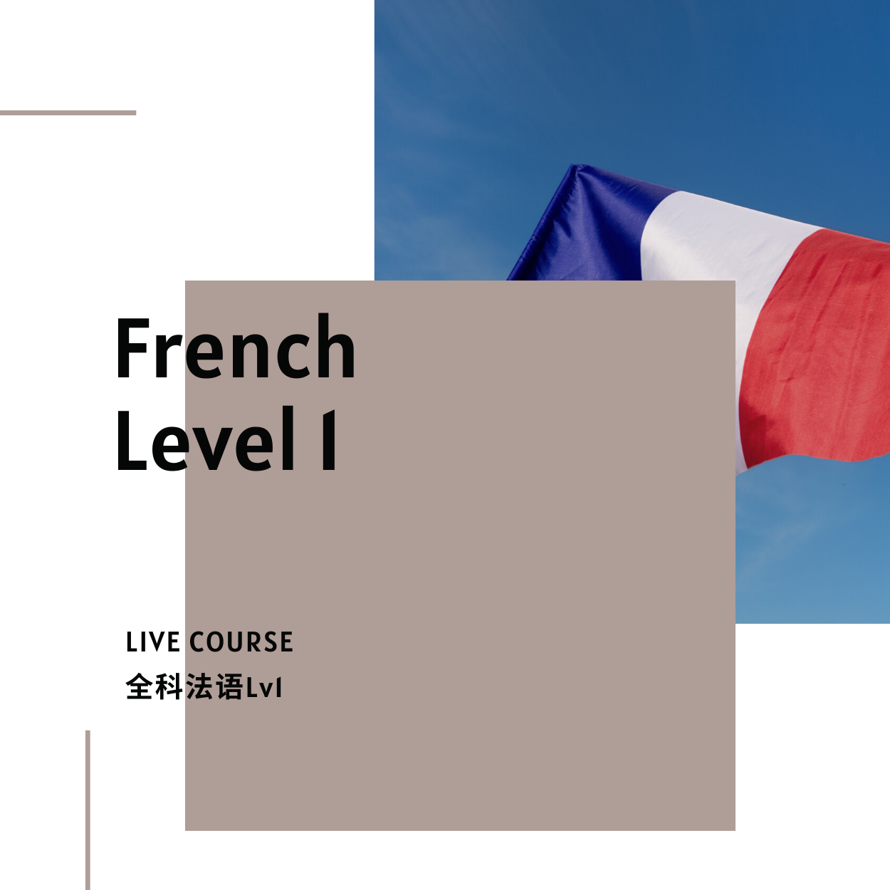 French Course 1