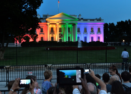 Three Obama Quotes About 'God' and Traditional Marriage That Bill O'Reilly Just Used to Make a Point About the White House's Rainbow Light Display