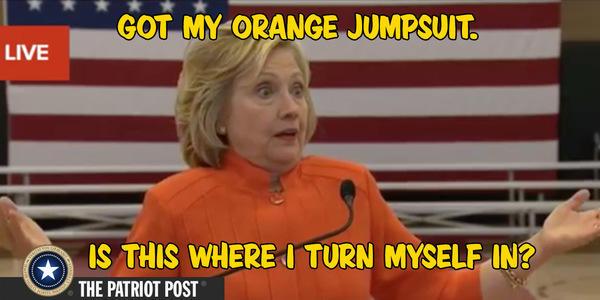 hillary jump suit