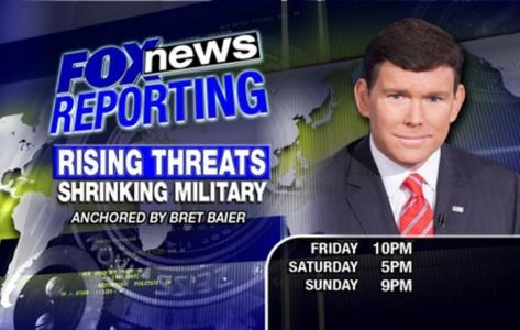 Tune in to FNC for 'Fox News Reporting: Rising Threats - Shrinking Military'