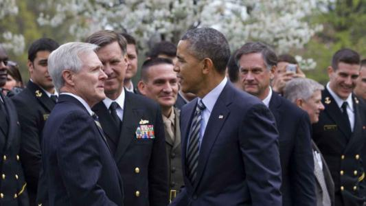 military and obama