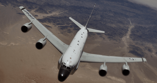 Russian Jet Threatened U.S. Recon Aircraft