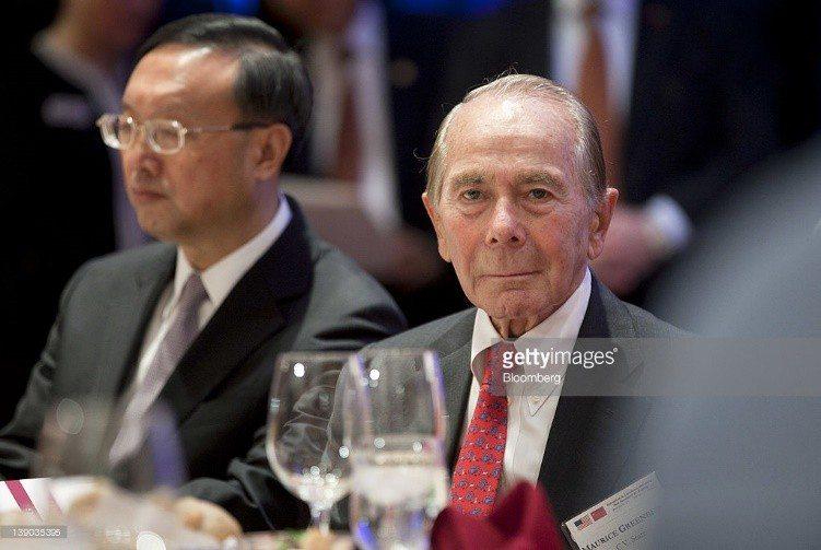 E:\Manifesto 2\AIG CEO Hank Greenberg attending speech giving by Chinese Communist ruler Xi Jinping.jpg