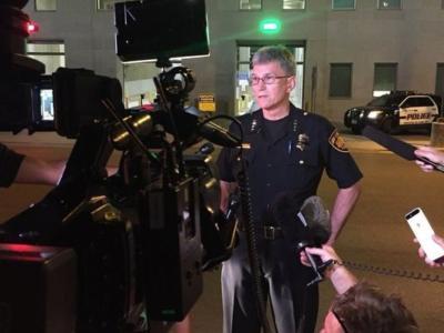 Gunfire hits San Antonio police headquarters