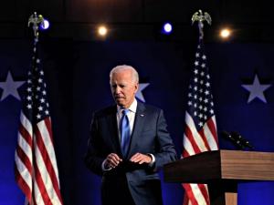 Joe Biden Claims 'Mandate' But Stops Short of Declaring Victory