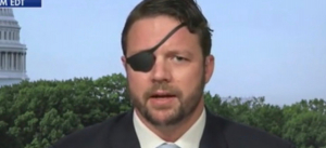 Rep. Dan Crenshaw Recovering After Eye Surgery Leaves Him Temporarily Blind