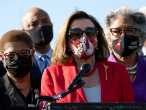 Nancy Pelosi: 'Thank You George Floyd for Sacrificing Your Life for Justice'