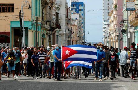 Joe Biden: «Estamos con el pueblo cubano y su clamoroso llamado a la libertad»