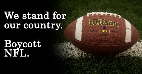 Tell the NFL to put order on the Gridiron and respect our National Anthem