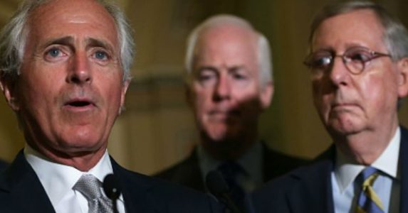 Mitch McConnell Defends Bob Corker Against Trump: 'Valuable Member' of GOP