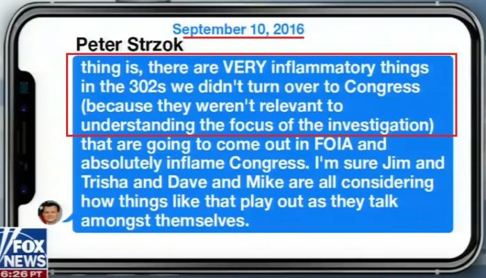 """""""Obstruction of Justice"""" – Special Agent Strzok Text Message Highlights FBI Investigative Intent…"""