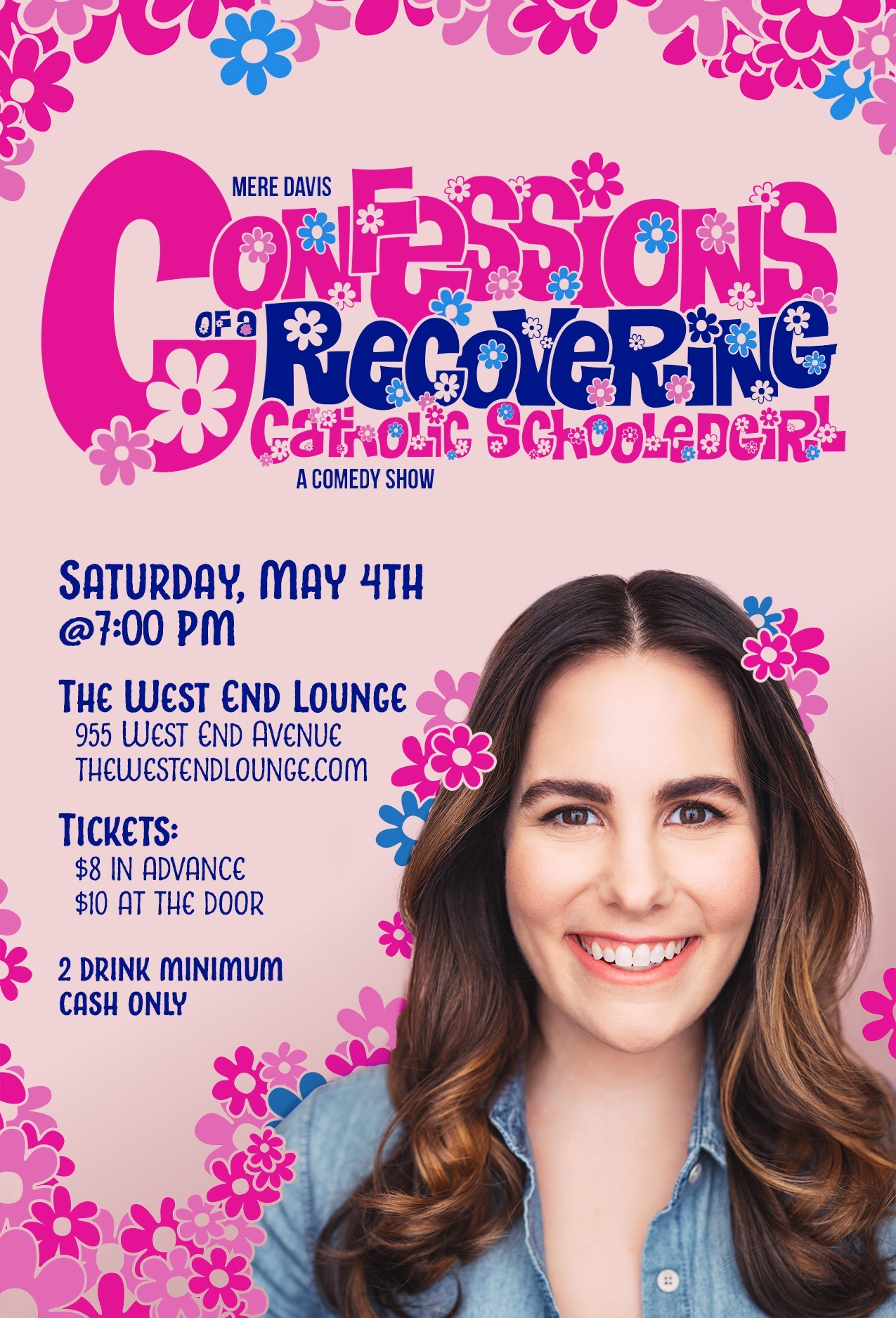 Confessions Of A Recovering Catholic Schooledgirl pink promo