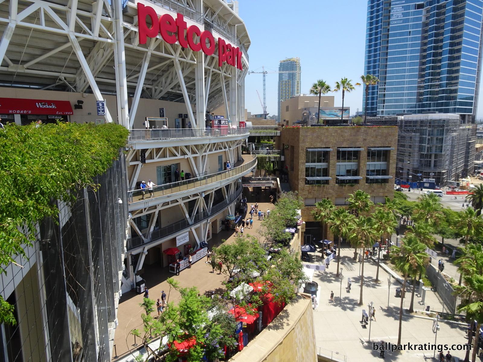 Petco Park concourses