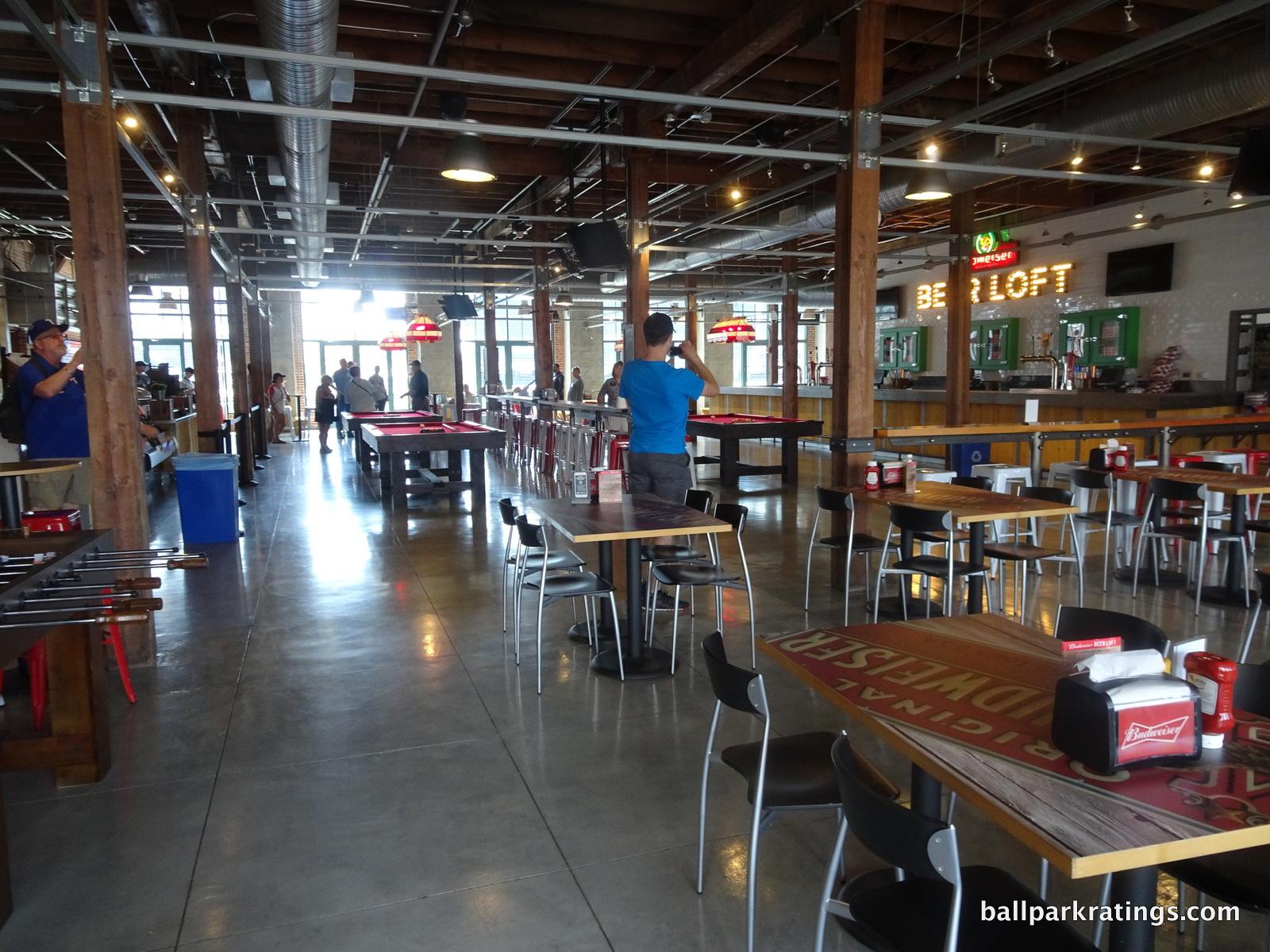 Petco Park Budweiser Beer Loft