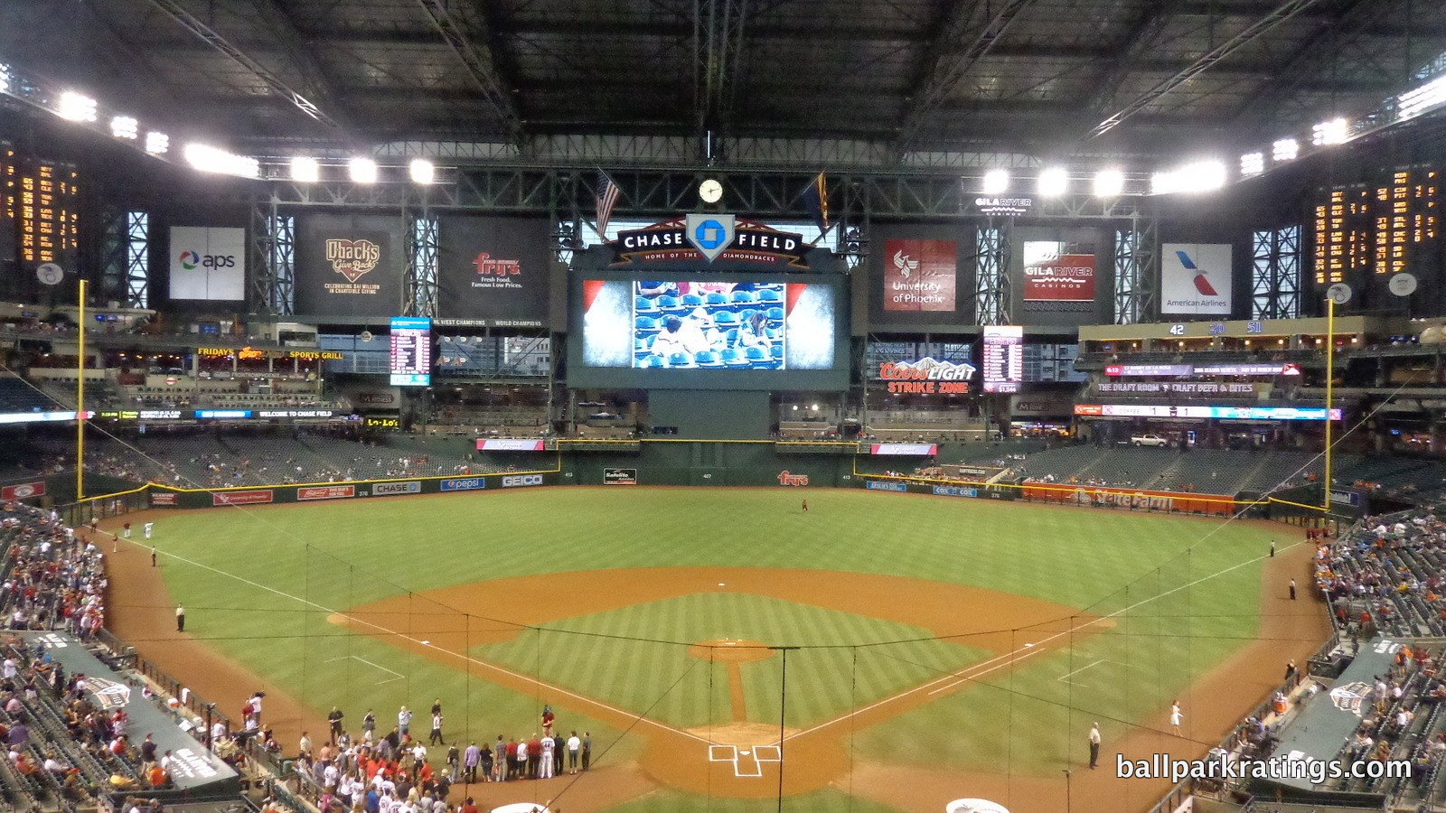 Chase Field view