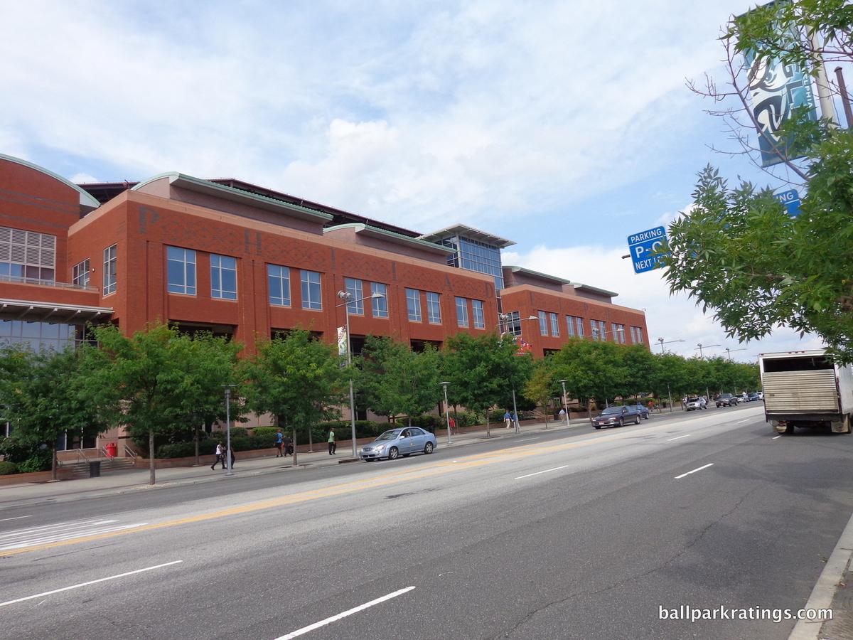 Citizens Bank Park exterior architecture