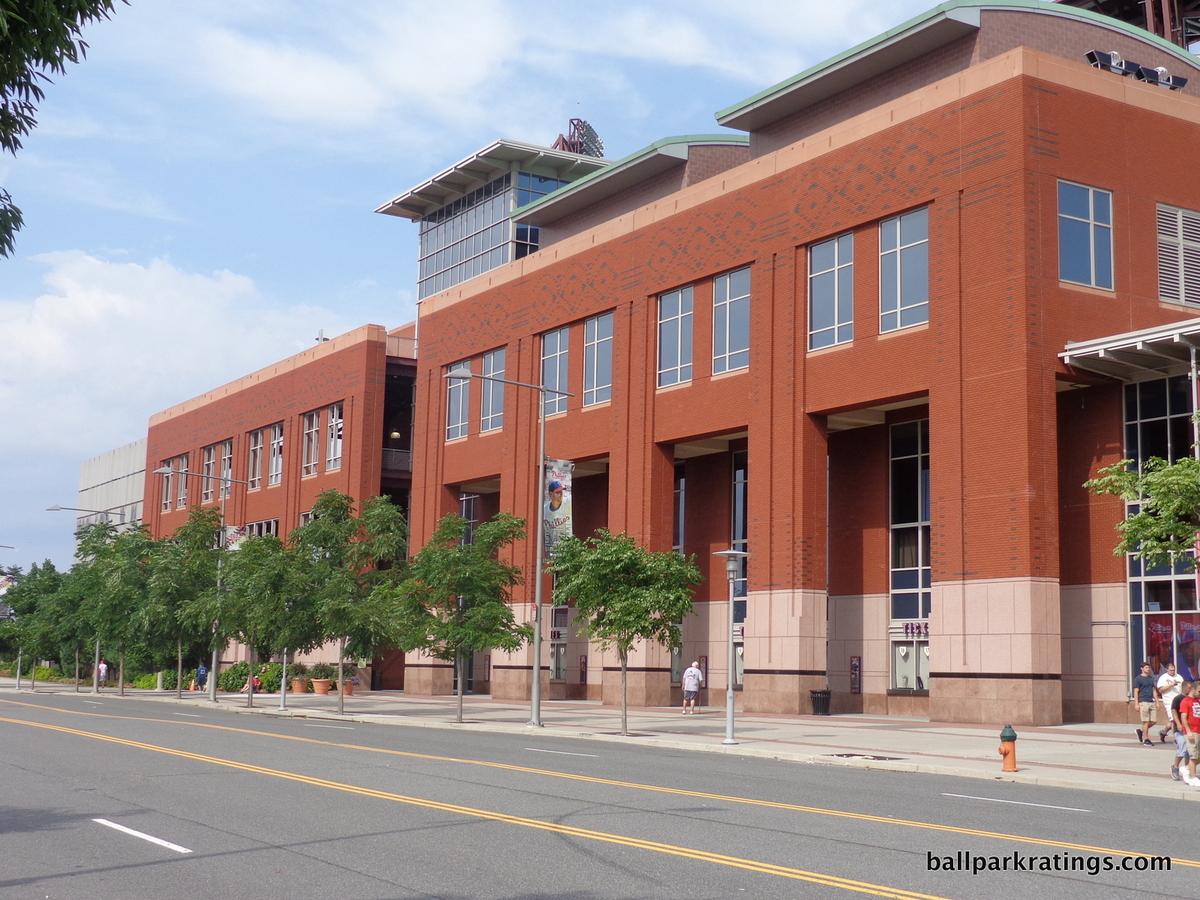 Citizens Bank Park architecture exterior