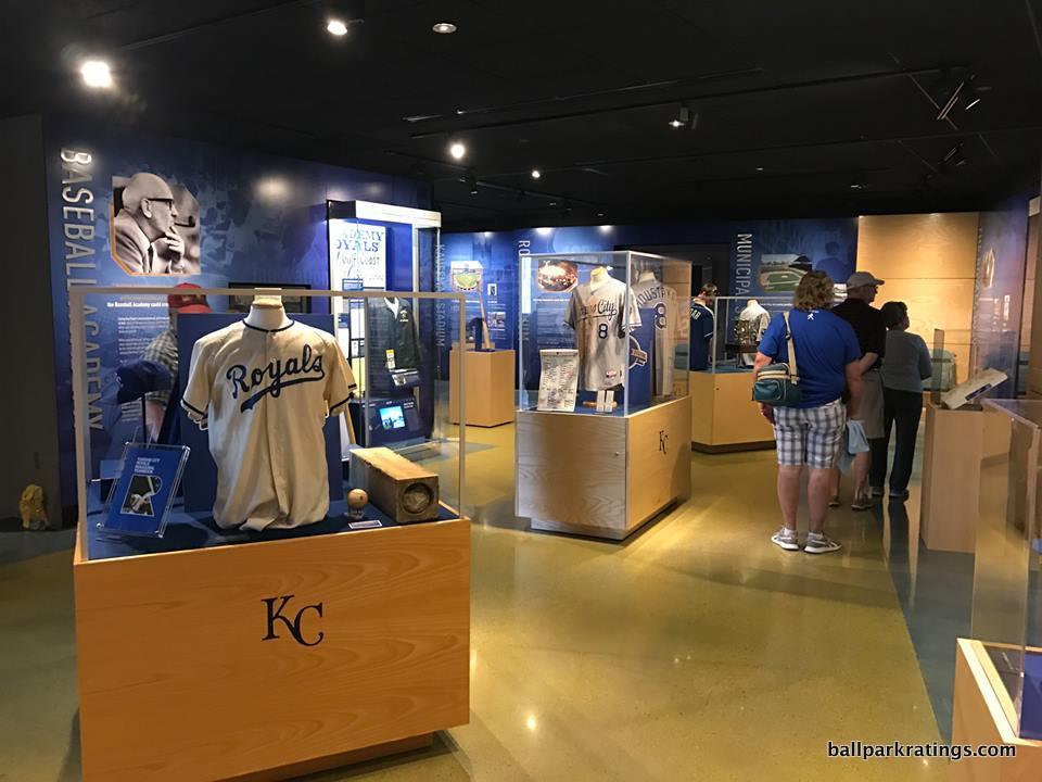 Royals Hall of Fame Kauffman Stadium