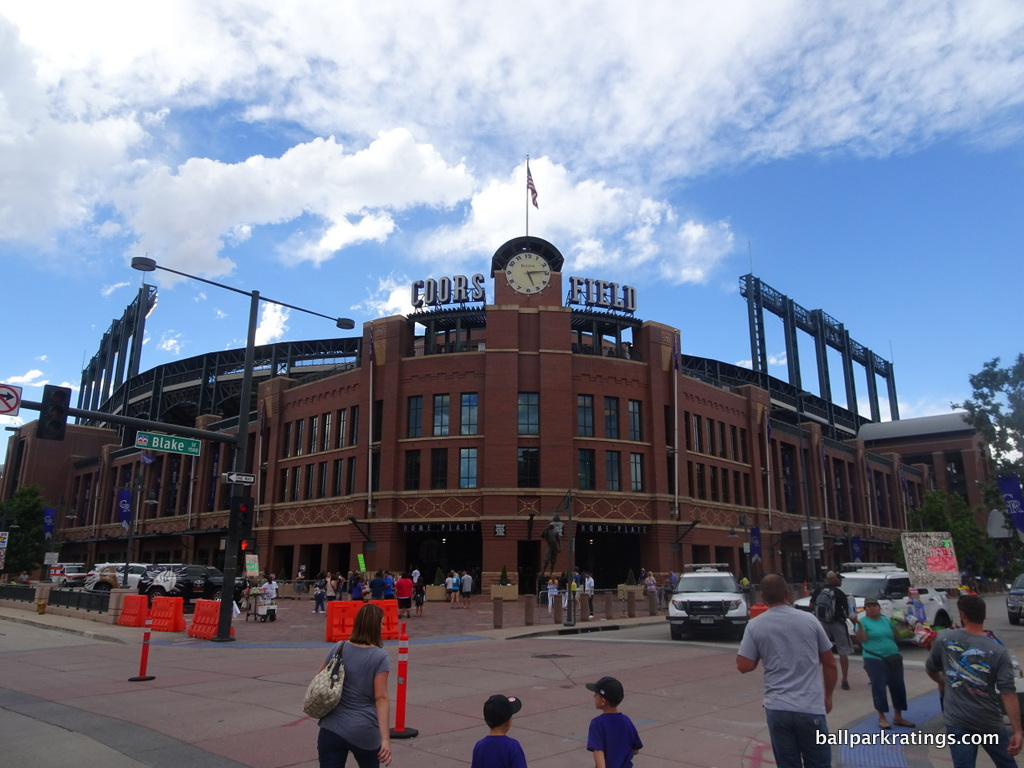 Coors Field exterior architecture