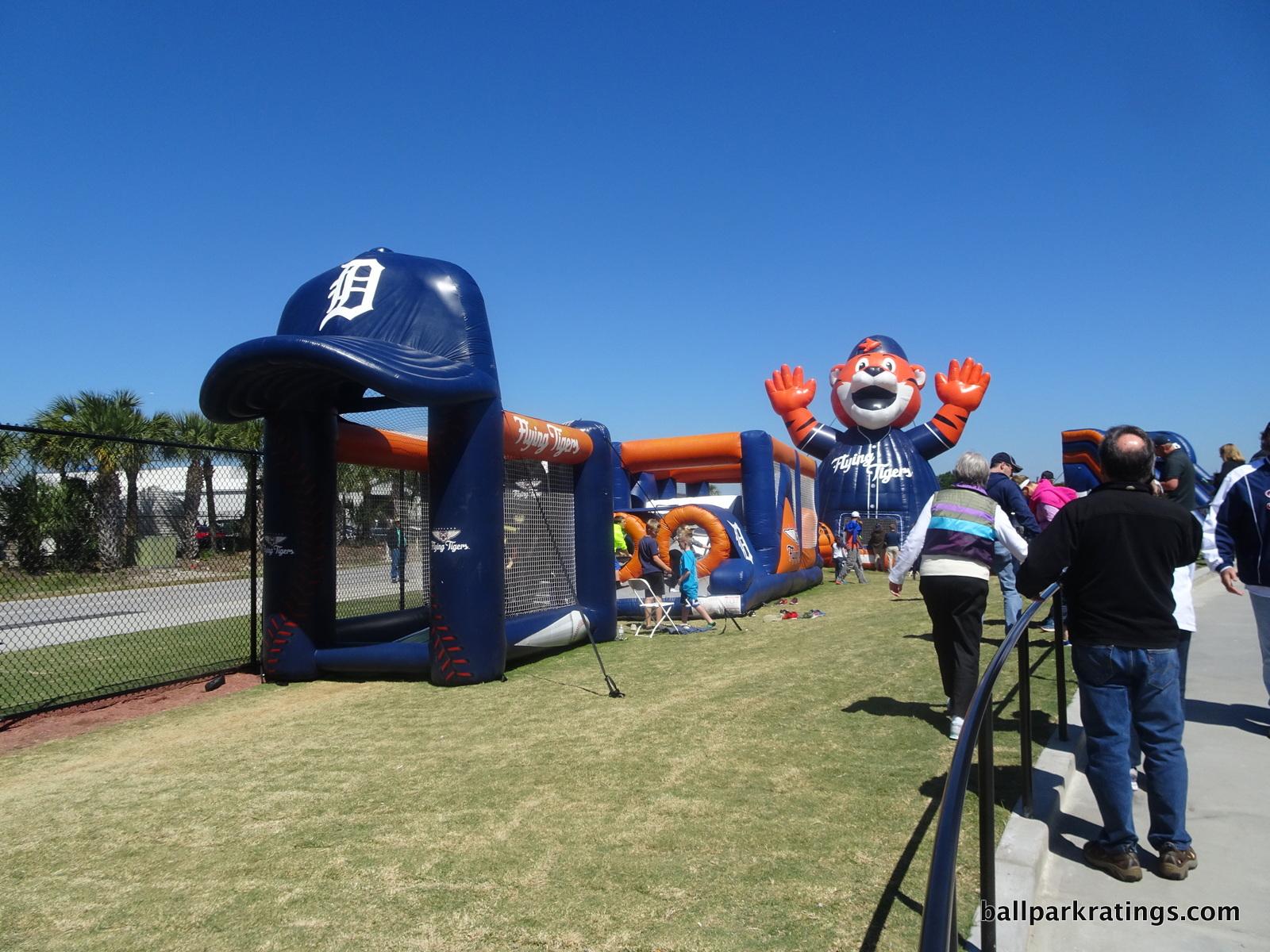 Play area at Publix Field at Joker Marchant Stadium