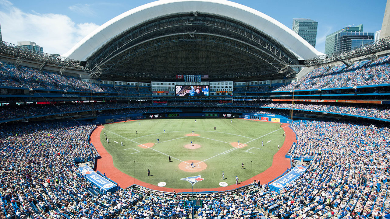Rogers Centre view